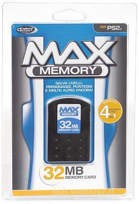 PS2 Memory card 32 Mb - DATEL