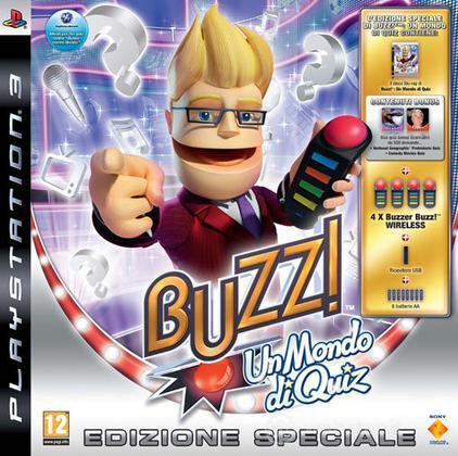 Buzz Un Mondo Di Quiz + Buzzer Wireless