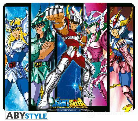 Mousepad Saint Seiya - Bronze Saints