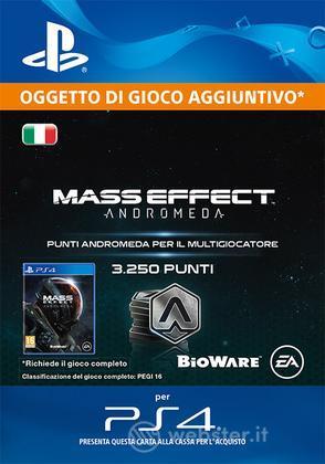 3250 punti Mass Effect : Andromeda