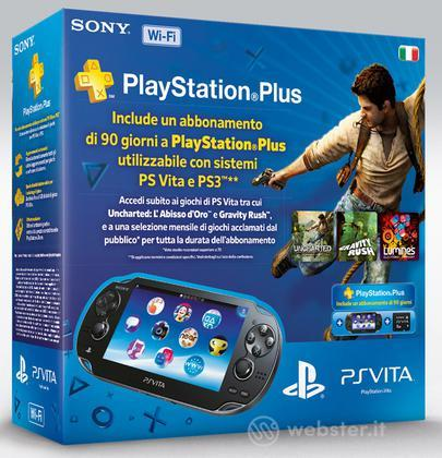 PS Vita WiFi+MemCard 8GB+PS Voucher 90gg