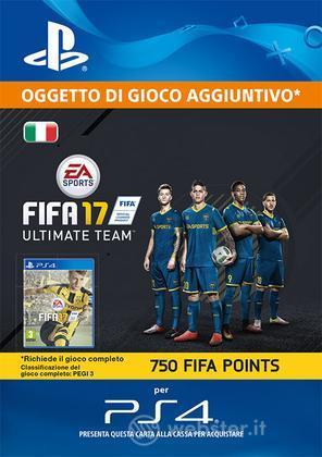 Pacchetto 750 FIFA 17 Points