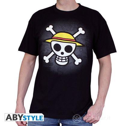 T-Shirt One Piece - Skull Map S