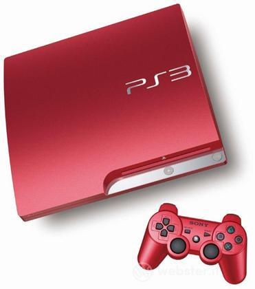 Playstation 3 320GB Chassis Scarlet Red