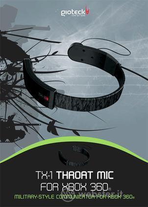 GIOTECK Throat Mic X360
