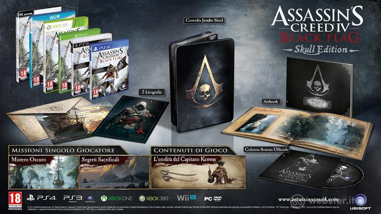 Assassin's Creed 4 Black Flag Coll. Ed.
