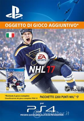 Pacchetto 2200 punti NHL 16