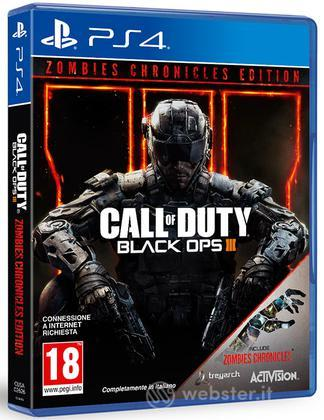 Call Of Duty Black OPS 3 Zombie Chron.