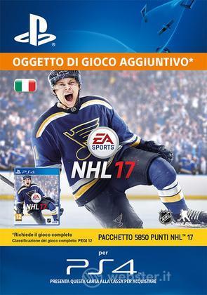 Pacchetto 5850 punti NHL 16