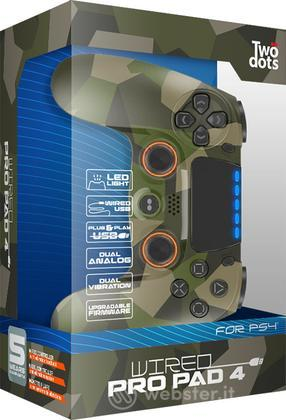 TWO DOTS Ctrl Wired Pro Power Camo PS4