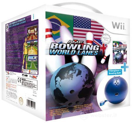 AMF Bowling World Lanes + Bowling Ball