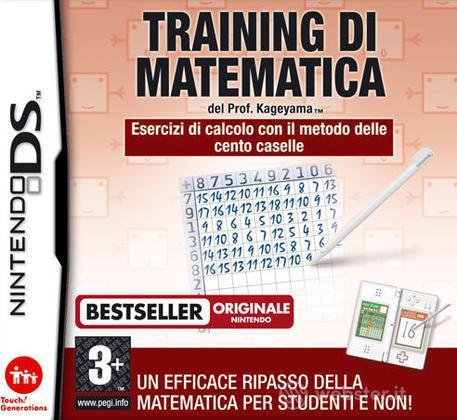 Training Di Matematica del Dr. Kageyama