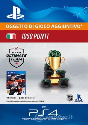 Pacchetto 1050 NHL 18 Points