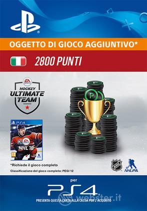 Pacchetto 2800 NHL 18 Points