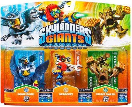 Skylanders Sprocket+S.Boom+StumpSmash(G)