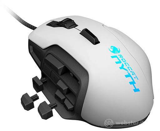 ROCCAT Gaming Mouse Nyth - Bianco