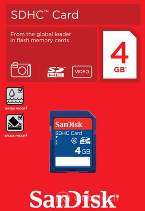 Sandisk Secure Digital 4GB HC