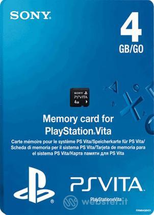 Memory Card 4GB PS Vita