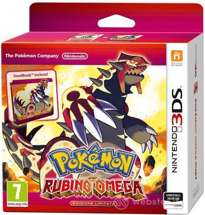 Pokemon Rubino Omega Limited Ed.