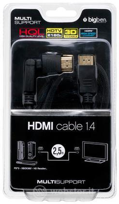 BB Cavo HDMI 1.4 2.5mt compatib. TV3d LX