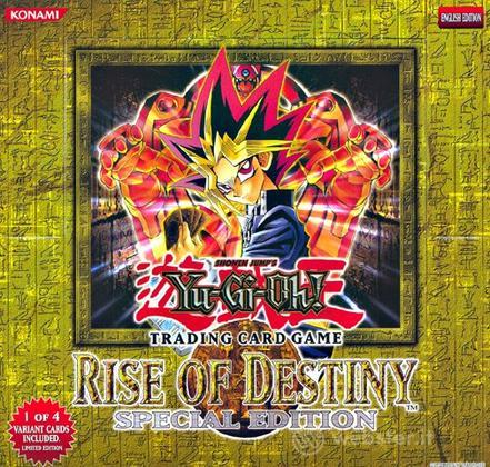 Yu-Gi-Oh! UK Mazzi Rise of Des. 10 Sp.