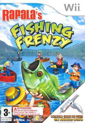 Rapala Fishing Frenzy With Fishing Rod
