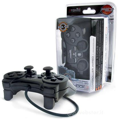 Ctrl wired TwinShock3 Atomic Nero PS3