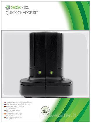 MICROSOFT X360 Kit di Ricarica Rapido