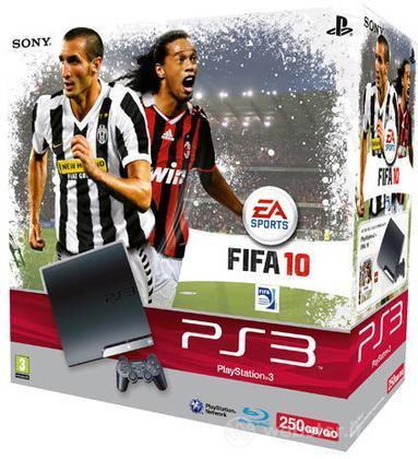 Playstation 3 250 Gb + Fifa 10