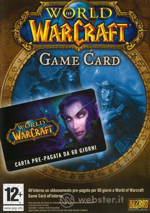 World Of Warcraft Carta Prepagata