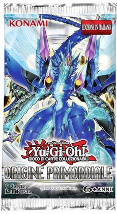 Yu-Gi-Oh! Origine Primordiale busta