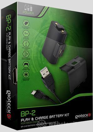 GIOTECK Batteria Play & Charge Kit BP-2