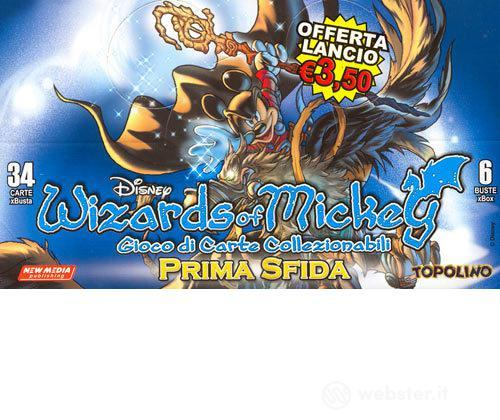 Wizards Of Mickey Prima Sfida Buste 6 pz