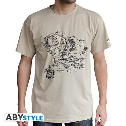 T-Shirt Signore degli Anelli - Map L