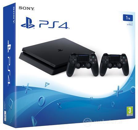 Playstation 4 Slim 1TB+2 Dualshock 4 V2