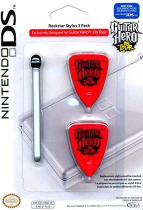 BD&A NDS Lite Guitar Hero Stylus Pack