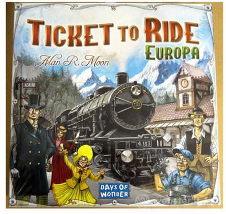 Ticket to Ride Europa - scatola base