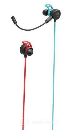 HORI Auricolari In-Ear Rosso-Blu SWI