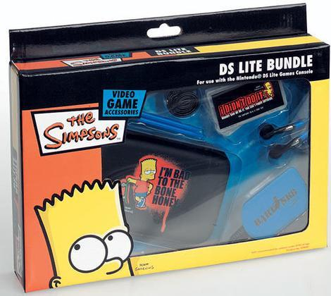 NDS Lite Bundle The Simpsons Bart