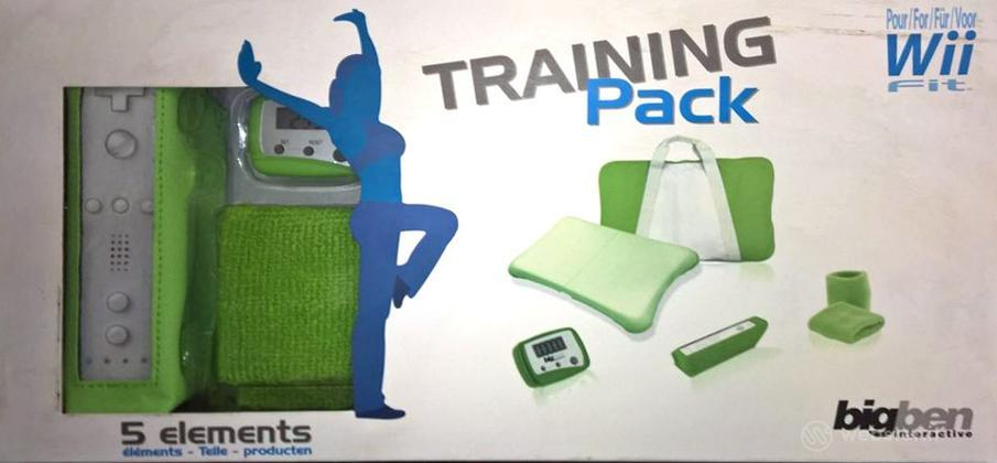 Kit 5 Accessori Wii Fit Training