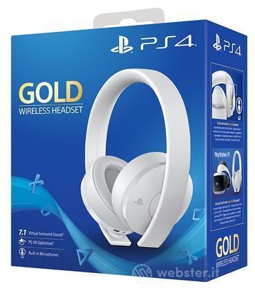 SONY Gold Wireless Headset - White Ed.