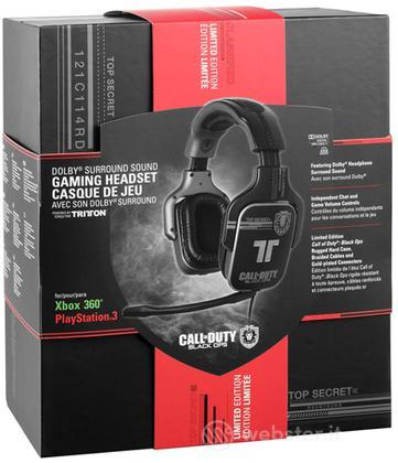 MAD CATZ PS3/X360 Headset COD Black Ops