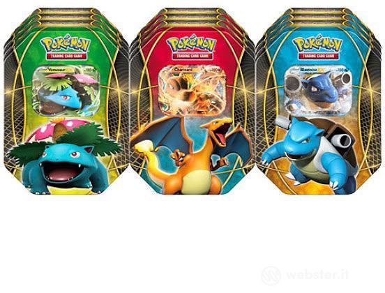 Pokemon TIN da collez. Trio del potere