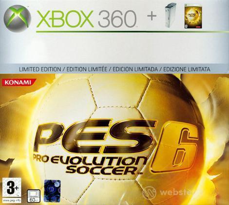XBOX 360 Pro PES 6 Bundle