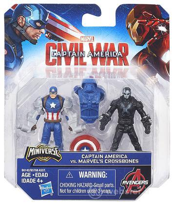 Figure Captain America Vs Crossbones