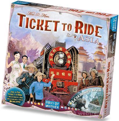 Ticket to Ride esp. Asia