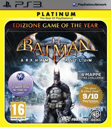 Batman Arkham Asylum GOTY Platinum