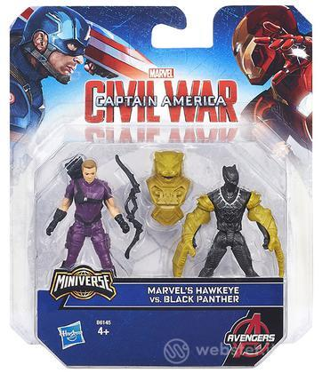 Figure Hawkeye Vs Black Panther