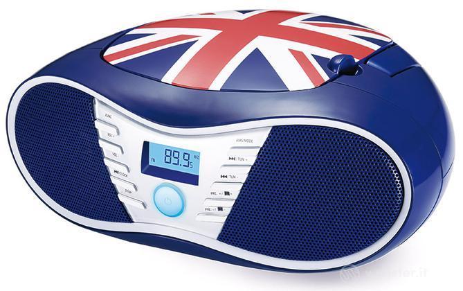 BB Lettore Radio CD UK Flag