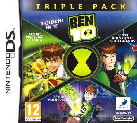 Ben 10 Triple Pack, 3 giochi 1 cartuccia